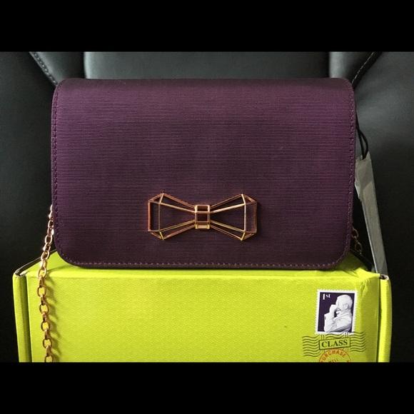 0e3c1acf4 Ted Baker London Michala Bow Clutch Bag